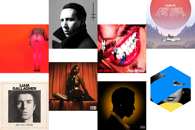 There are some really fantastic albums and EPs dropping this month, but IMO, if you're going to choose eight albums to put on high rotation, make it Beck's 'Colors', Kelela's 'Take Me Apart', St. Vincent's 'Masseduction', 'As You Were' by Liam Gallagher, Marilyn Manson's 'Heaven Upside Down', The Darkness' 'Pinewood Smile', Gucci Mane's 'Mr Davis' and 'Lune Rouge' by TOKiMONSTA.