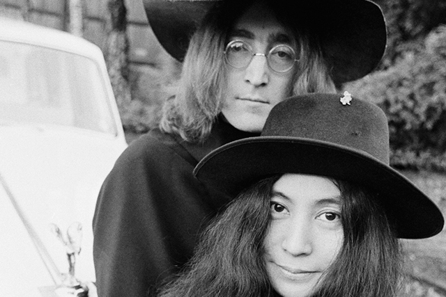 Yoko Ono, despite being dragged by fans, inspired John Lennon, co-wrote with him and introduced him to avant garde art.