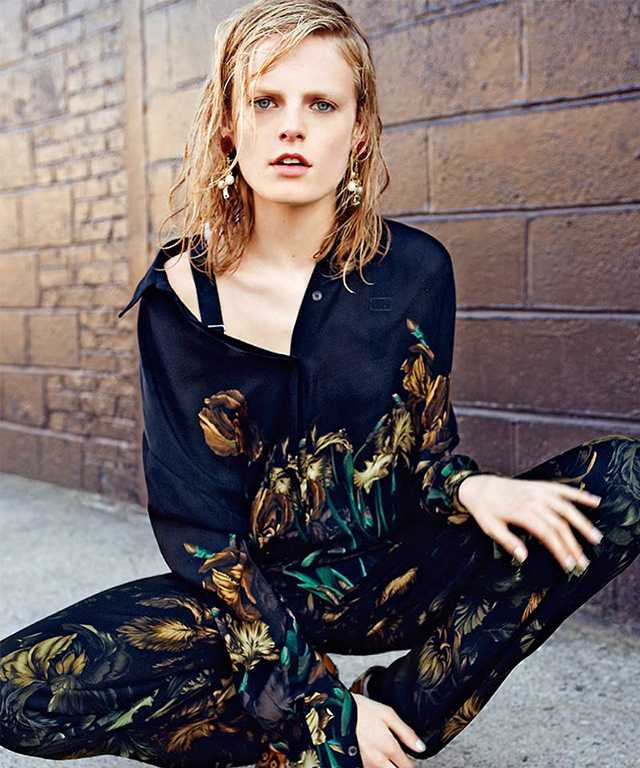 Hanne Gaby Odiele, intersex model and LGBTQI campaigner