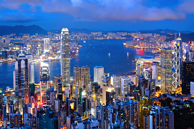 7.	Hong Kong. A tantalising blend of east and west influences, this former British colonial city is teeming with incredible food and nightlife. As a centre for the Asian financial market, it has a vibrant expat scene, making it easy for Western travellers to navigate.