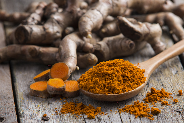 7. Turmeric. Not only does it give your meal a curry-like flavour, turmeric is also found to fight infection and inflammation by preventing damage caused by free radicals. Watch out for your hands when you're using it though - it'll stain!