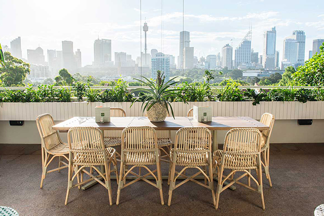 The Butler, Potts Point: This botanical eatery in pretty Potts Point delivers the goods in the verandah dining scene. Sublime sunset spritzers, a palate-pleasing menu and service you would expect from a trained professional.