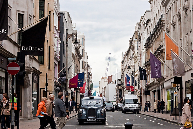 3. New Bond Street, London – $1,719 USD