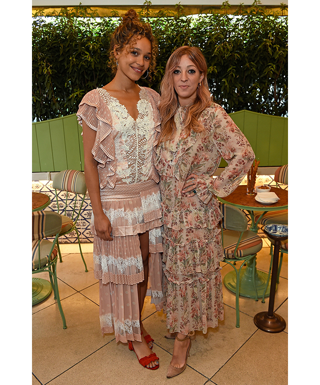 Singers Izzy Bizu and Isabella Summers
