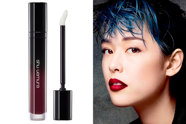 9.	Shu Uemura Laque Supreme in WN 05, $42, davidjones.com.au. Available January 21, 2018. With 11 new shades for summer and brand new applicator wand, Shu Uemura's highly pigmented liquid lipstick is worth the end-of-summer wait. And this deep plum shade will carry you through to autumn, too.