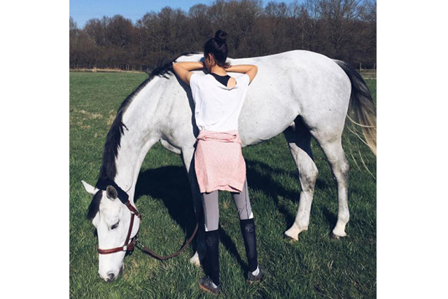 Iman Perez - Gorgeous model and daughter of French actor Vincent Perez and model Karine Silla Perez, also a competitive horserider.