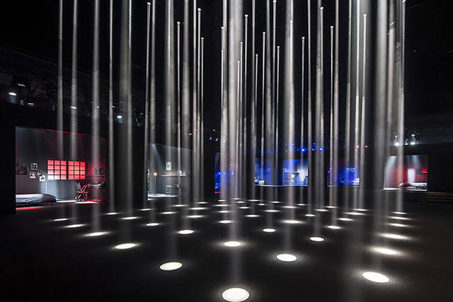 The Ginza Six presentation space for the Dior Homme A/W'17 collection