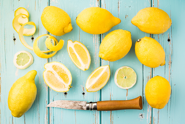 Lemon. By stimulating bile production in the liver, lemon kick-starts the metabolism and flushes the digestive system.
