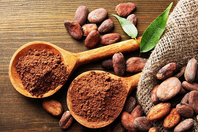 9. Raw cacao powder. Yes this powerful antioxidant and treat can bring Willy Wonka to your water. Just add a minimum amount so it doesn't turn into a shake.