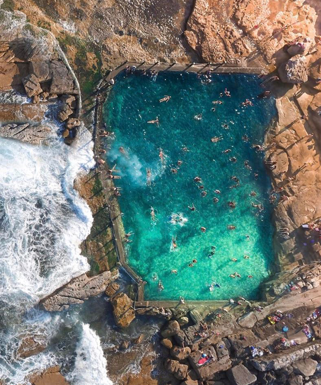 Maroubra rock pool