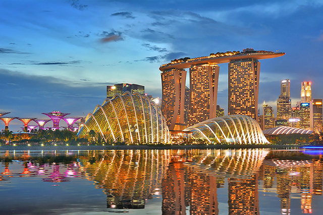 11.	Singapore. Cleaner than your average Asian city, this mecca is a mix of designer shopping, world-class dining experiences and polite locals –who needs travel companions in a city like this?