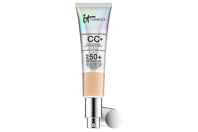 11.	Same goes for Sephora's stocks of IT Cosmetics Your Skin But Better CC Cream with SPF 50+, $58, which currently has a waitlist. And we guess going into summer the full-coverage CC cream with serious SPF is only going to gain in popularity.