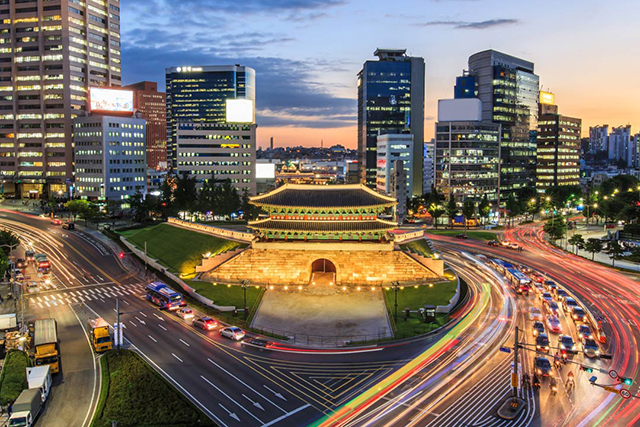 13.	Seoul. With a rapidly rising profile, South Korea's epicentre for K-Pop and beauty innovation is occasionally confounding, but mostly intriguing. Try the Korean BBQ – even if you don't understand what's ordered, you won't be disappointed.