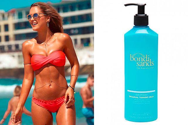 12.     Body moisturiser: Bondi Sands Everyday Tinted Moisturizer. It keeps my tan lasting longer.
