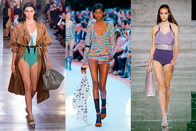 9. Summer style cue: Pants-off As seen at Bottega Veneta, Missoni and Salvatore Ferragamo. Not such a crazy idea after this weekend's heatwave, huh?