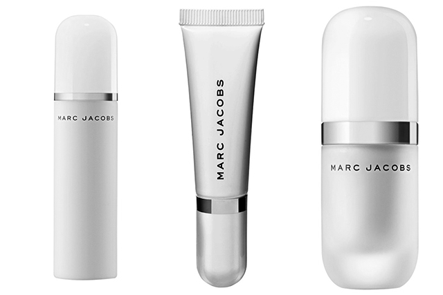 13.	Kaia Gerber is the face of Marc Jacobs Beauty, which is a fitting choice for such a red hot brand. Its line of Coconut setting mist, face primer, gel highlighter and eye primer sold out in stores and remains mostly sold out online, too. Although, if you're lucky you can jump on what's left of the Under(cover) Perfecting Coconut Eye Primer, $37….
