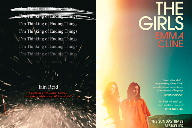 Thursday, July 14: If you're hunting for something new, thrilling, twisted, intense and completely enthralling - check out new book releases 'I'm thinking of Ending Things' by Ian Reid, 'The Girls' by Emma Cline or 'Baby Doll' by Hollie Overton.
