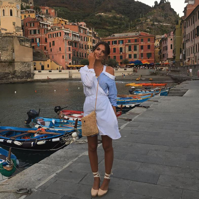 1. We guess those Italy holiday snaps paid off… Emily Ratajkowski has the most popular Instagram stories in fashion.