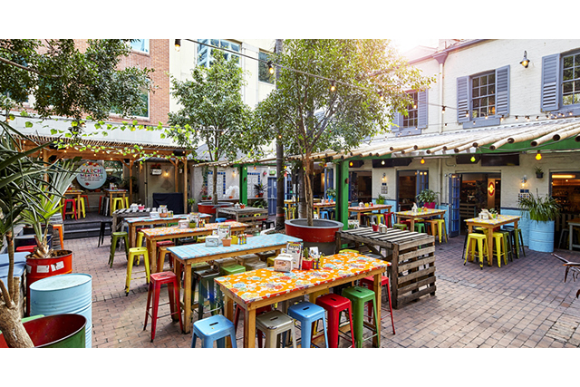 El Loco at The Slip Inn, CBD: Melt-in-your-mouth Mexican under summery vistas is El Loco's alfresco edge.