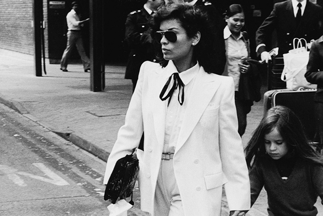 "Even though Mick famously said his marriage ended the day it began, Bianca Jagger was his first wife and  the epitome of 70s disco cool. Jagger was the inspiration for ""Luxury""  and ""Respectable""."