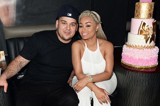 First a bit of background. Rob K's partner is video vixen/model Blac Chyna. Her real name is Angela White and they have a baby called Dream. Also unfortunately her real name.