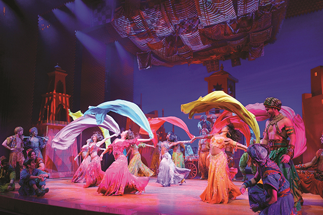 Thursday, August 18: Shining, shimmering, splendid: 'Aladdin The Musical' has opened in Sydney at the Capitol Theatre, and is everything your 10-year-old self hoped it would be.