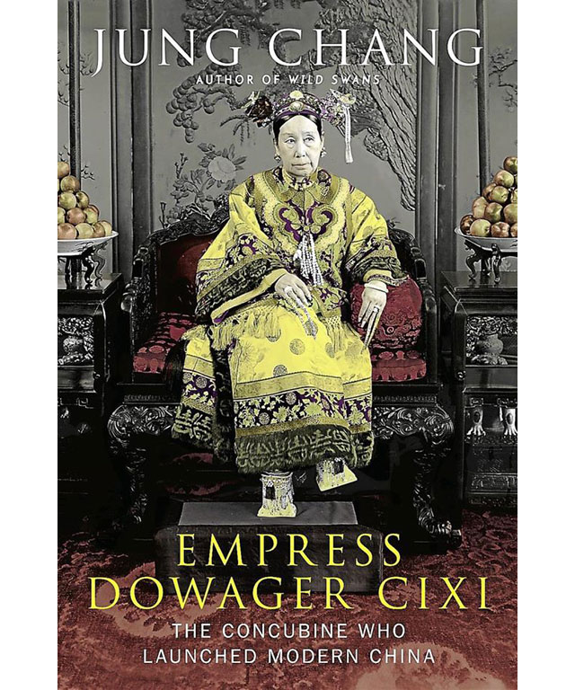 15. Empress Dowager Cixi: The Concubine Who Launched Modern China by Jung Chang (Knopf)