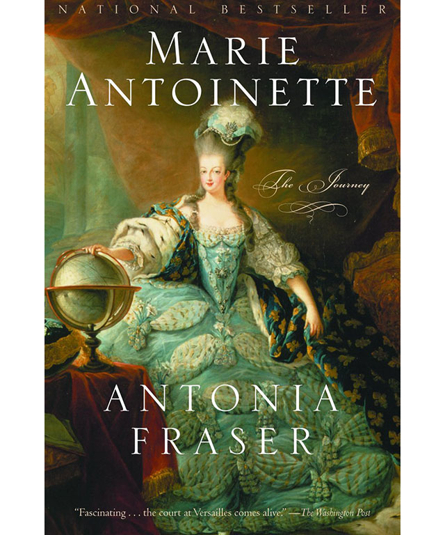 27. Marie Antoinette: The Journey by Antonia Fraser (Anchor) Special Mention also to: Queen of Fashion: What Marie Antoinette Wore to the Revolution by Caroline Weber (Picador)