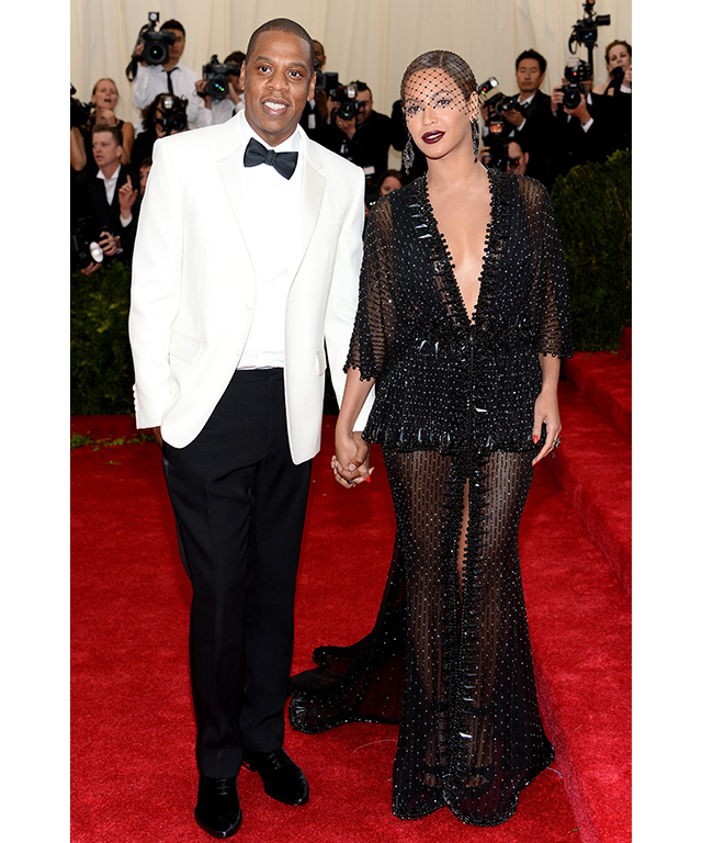 Jay Z and Beyonce in Givenchy Haute Couture, 2014