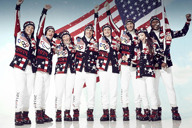 Ralph Lauren x Team USA: The 2014 Sochi Winter Olympics showed super chill style thanks again to Polo Ralph Lauren.
