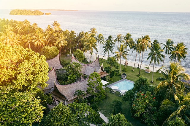 Local Hotel Hero - Dedon Island Resort Siargao Island, Philippines