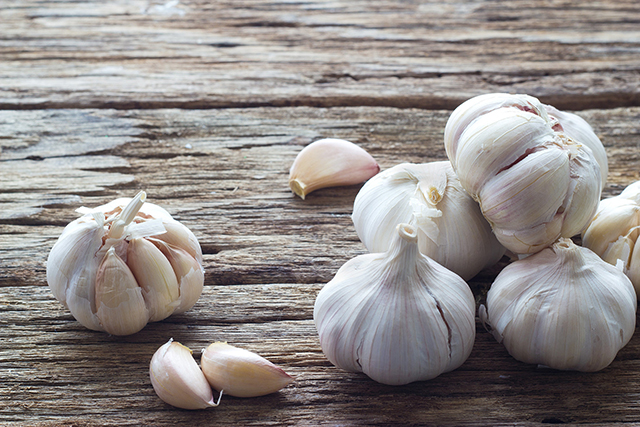 Garlic. The sulfur in garlic supports sulfation, an important phase 2 liver detoxification pathway.