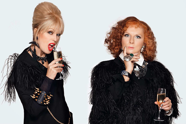 "Wednesday, August 3: Sweeties, tomorrow is the official opening date for 'Absolutely Fabulous: The Movie'. So break out the stoli+bolli, pile on the vintage Lacroix and spend tonight binging on the iconic series on Netflix in anticipation. Don't forget to prep for the occasion in true Edina style: ""Quick shower, quick shower… Wash and go. Sandpaper, exfoliant, cellulite breakdown, tone and perm, auto-bronzer and birch twigs! Shall I have soap? No, no soap."""
