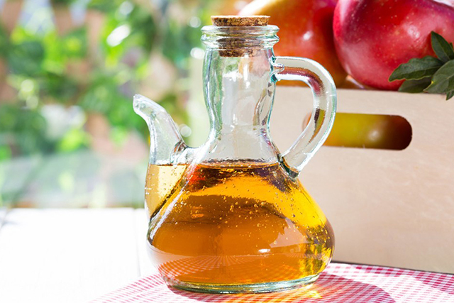Apple cider vinegar. 10ml in water taken before a meal helps to stimulate the production of stomach acid, which improves digestion and relieves bloating.