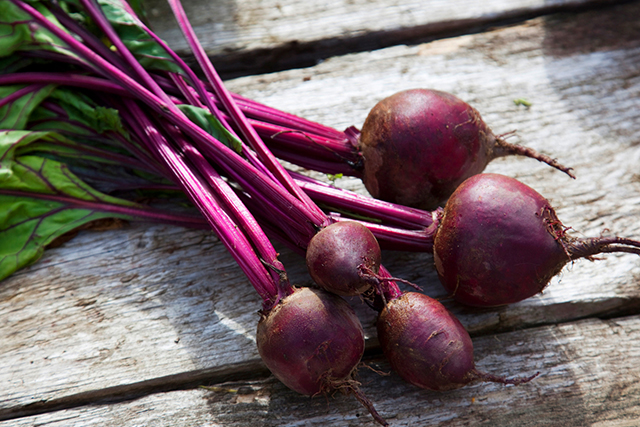 Beetroot. Full of fibre and nutrients that accelerate your body's ability to detoxify pollutants, antioxidant-packed beets are your liver's best friend.