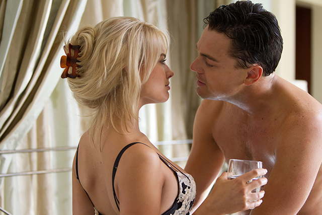 4. Margot had three shots of tequila before she filmed her first sex scene with Leonardo DiCaprio.