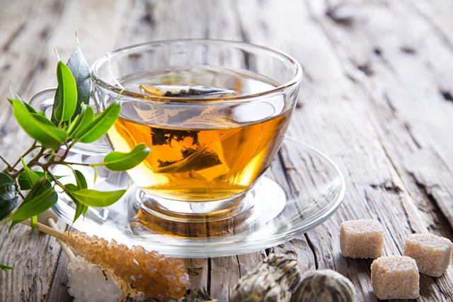 4. Green tea. As well as helping you rehydrate, green tea is packed full flavonoids and catechins which function as powerful antioxidants, helping to quench the free radicals left over from a night of excess drinking.