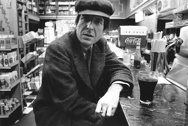 In November, we lost folk musician Leonard Cohen.