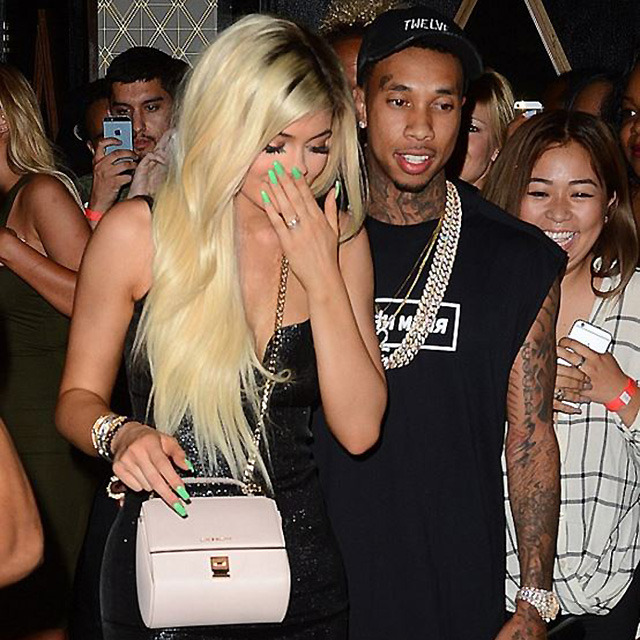 And Tyga is currently dating Rob's sister Kylie Jenner. You can imagine how awks family dinner would be.