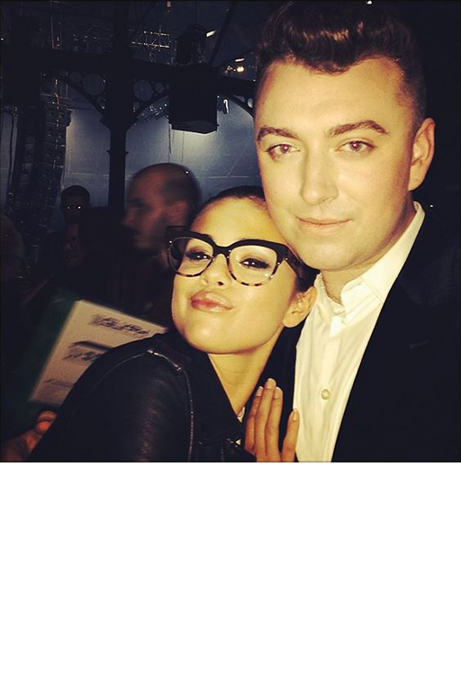 With Sam Smith