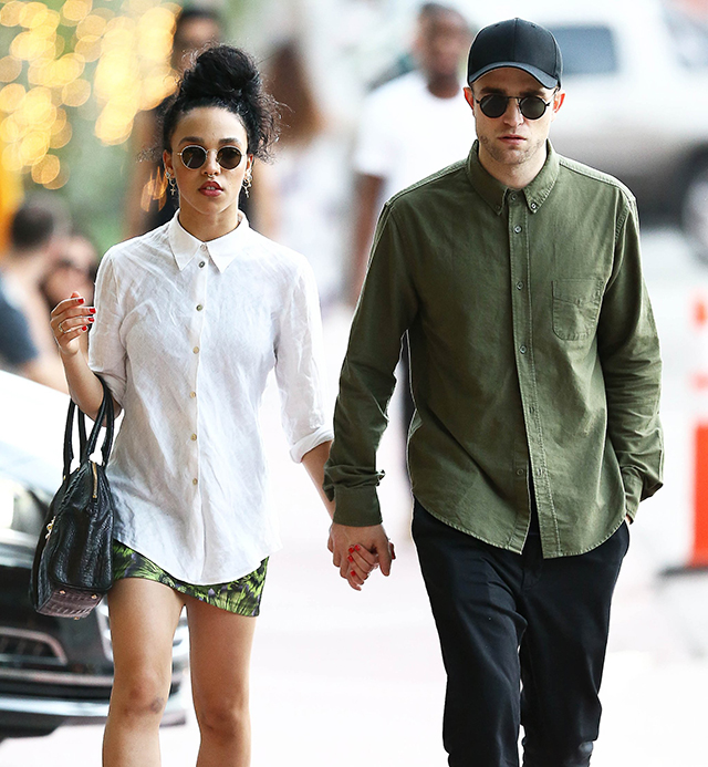 Robert Pattinson and FKA Twigs: The couple ended things in October. They had been dating since September 2014, and got engaged seven months later.