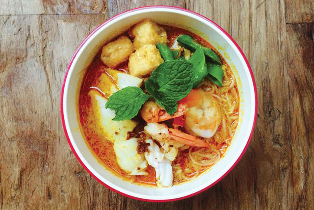 Laksa at Chinta Kechil, Double Bay: Whether you're a sweet and sour laksa lover stella Malaysian diner, Chinta Kechil has you covered. In the cool months, there's nothing better than a bowl of their spiced up lovely laksa. 342 New South Head Rd, Double Bay