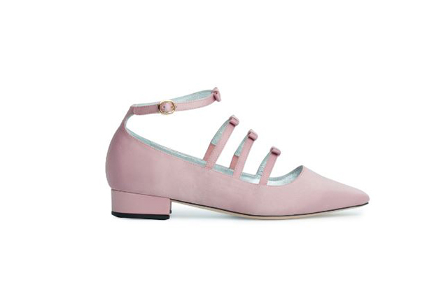 Alexachung square toe bow shoes $390