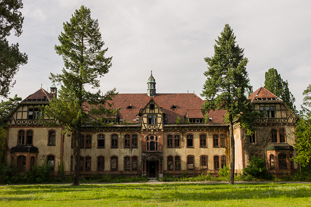 Beelitz-Heilstatten Hospital, Germany.