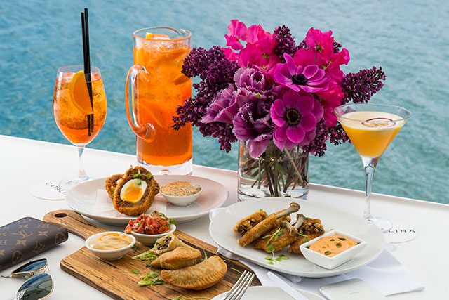 Catalina Rose Bay: Pews with views is how Catalina rolls. Hovering over stunning Rose Bay this upmarket noshery has been catering to the eastern suburbs ladies lunch set since time (or dining) began for two valid reasons: the incredible views and the fab, fresh food.