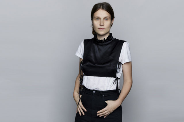 Cecilie Rosted Bahnsen for Cecilie Bahnsen: Danish womenswear designer based in Copenhagen