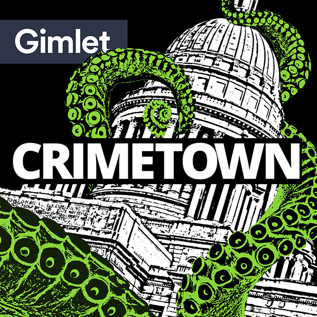 5. Crimetown: This exceptional new podcast from Gimlet Media (Reply All, StartUp) is like The Godfather of audio. Currently in its first season, hosts Marc Smerling and Zac Stuart-Pontier go inside Providence Rhode Island where wise guys rule the streets and corruption runs the town. Shockingly good listening.