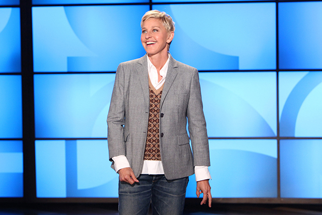 Ellen DeGeneres host of 'The Ellen DeGeneres Show' annual salary $50 million USD