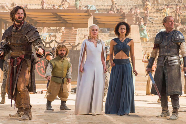 The Game of Thrones stars estimated to each make $500,000 USD per episode: Emilia Clarke, Nikolaj Coster-Waldau, Peter Dinklage, Kit Harington, Lena Headey