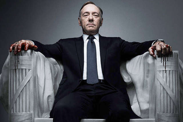Kevin Spacey is estimated to be banking $500,000 USD per episode for 'House of Cards'